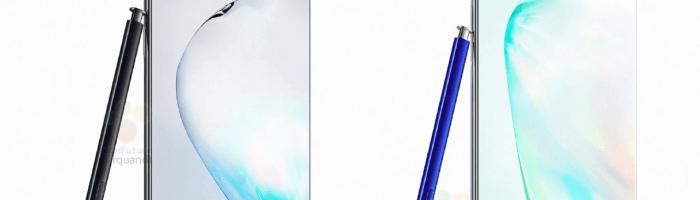 Noi informatii despre Galaxy Note 10