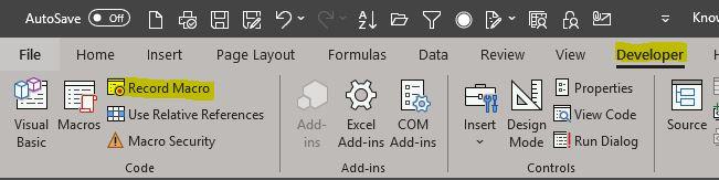 Mic tutorial Excel: cum inregistrezi un Macro