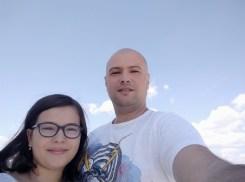 Redmi Note 7 outside lumina selfie2