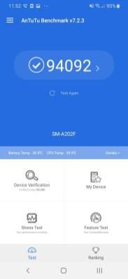 Samsung A20e_AnTuTu Benchmark4