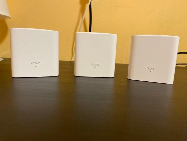 Review Tenda MW5s - 3 cuburi wireless pentru o casa mare