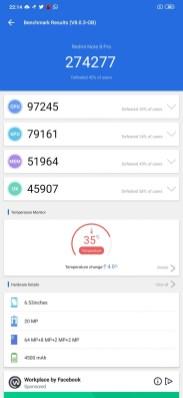 Redmi Note 8PRO AnTuTu3