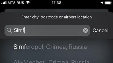 crimeea apple maps1