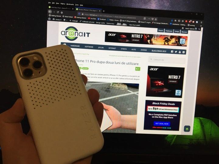 Castiga o husa Razer Arctech Slim pentru iPhone 11 Pro
