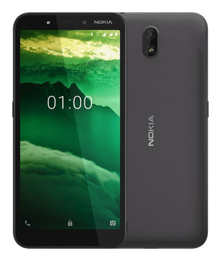 Nokia C1 - smartphone cu Android 9 Go la un pret foarte mic