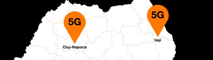 5G pe strazile din Cluj Napoca