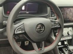 Skoda Kodiaq RS interior volan