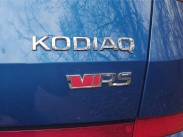 Skoda Kodiaq RS rear logo