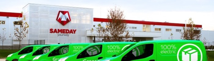 eMAG Green Delivery: livrare cu masini electrice