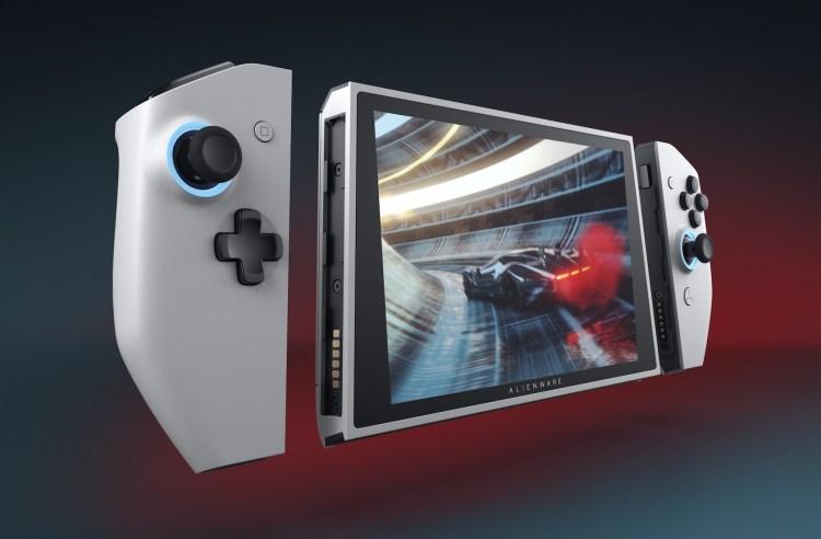 Alienware Concept UFO - consola cu hardware de PC