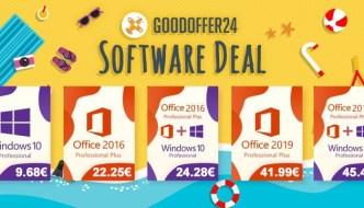 GoodOffer are oferte bune la licente pentru Windows si Office