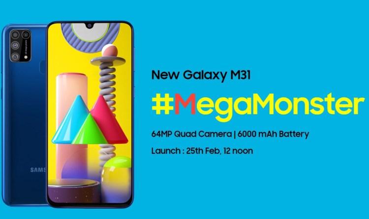 Samsung Galaxy M31 - un monstru cu baterie de 6000mAh