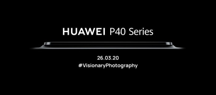 Huawei P40 si P40 Pro vor fi prezentate pe 26 martie