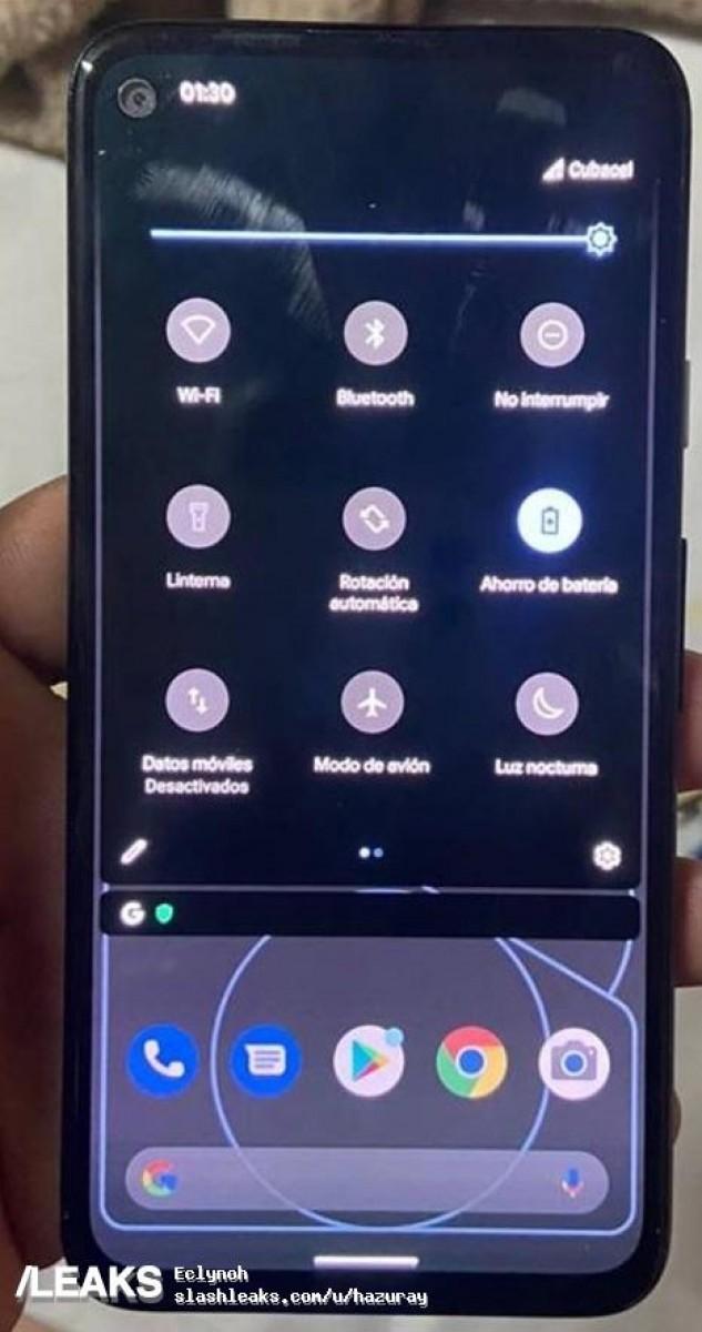 Pixel 4a in imagini oficiale - arata ca un telefon low end