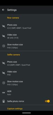 Motorola One Zoom camera foto2