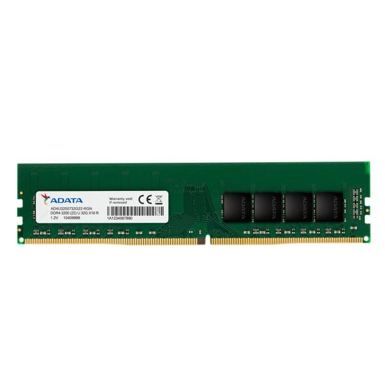 ADATA a lansat modulele de memorie U-DIMM si SO-DIMM DDR4-3200