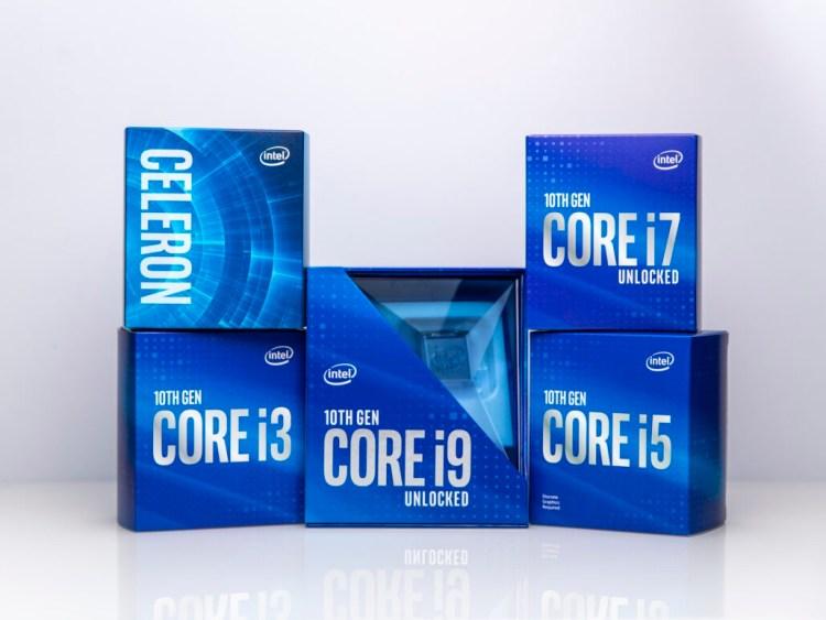 Procesoarele Intel gen10 Comet Lake pentru desktop-uri sunt disponibile la PC Garage + placile de baza compatibile