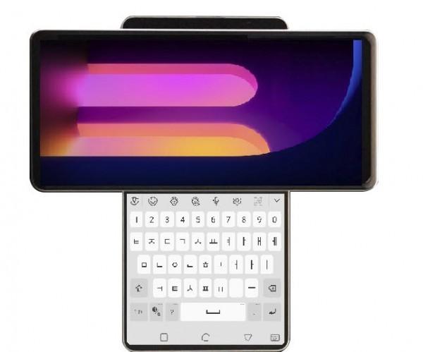 LG Wing - un telefon cu ecran rotativ dual screen