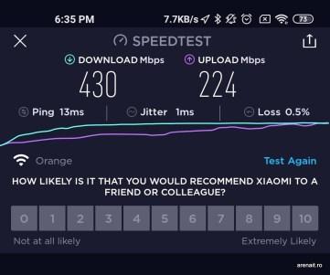 Test viteza WiFi