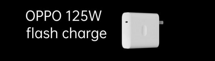 Oppo a lansat incarcatorul de 125W si un incarcator wireless de 65W