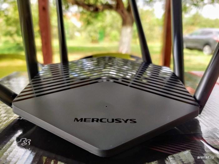 Mercusys MR50G router review: acoperire foarte bună