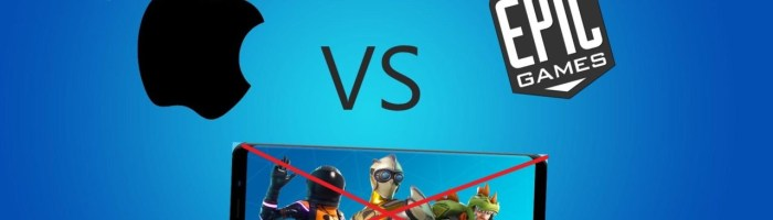 Apple a inchis conturile dezvoltatorilor Epic Games