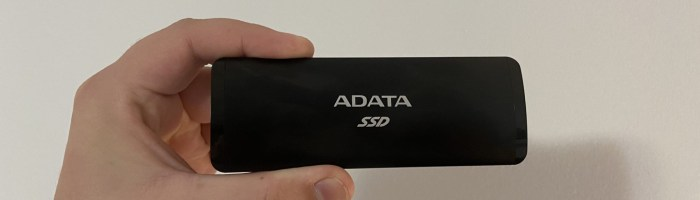 Review SSD extern ADATA SE760