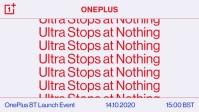 OnePlus 8T devine oficial luna viitoare