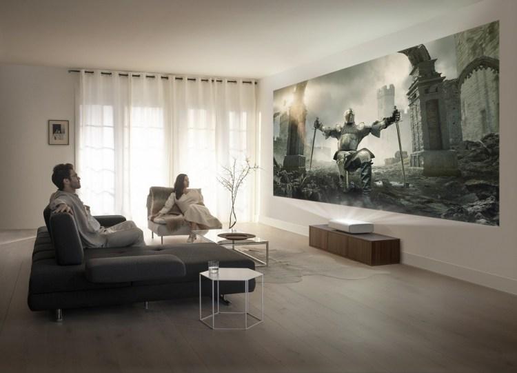 Samsung a anuntat proiectorul The Premiere, laser 4K Short Throw