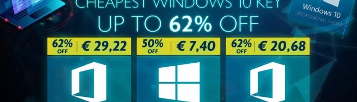 Cel mai mic pret la Windows 10 de pana acum - doar 6 euro