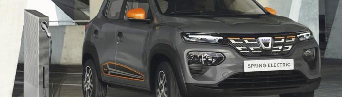 Dacia Spring lansată oficial: livrări din primăvară