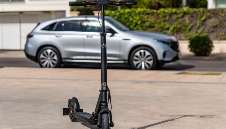 Mercedes a lansat o trotineta electrica in colaborare cu Micro Mobility Systems