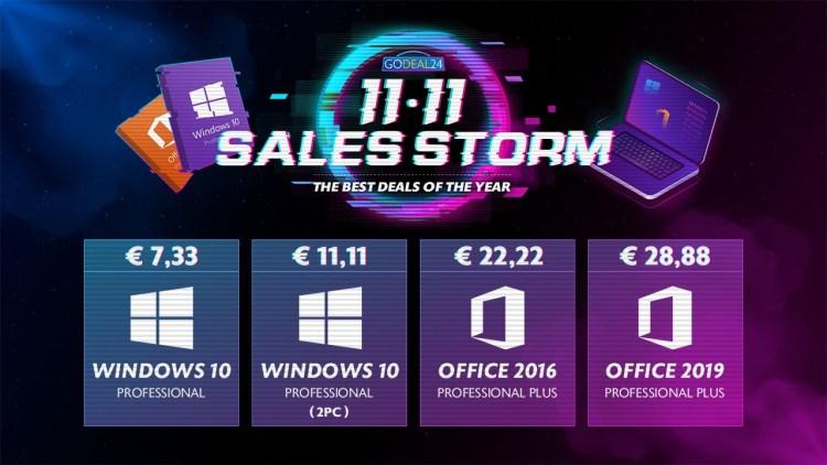Cel mai mic pret din acest an la Windows 10 - 5.5 euro