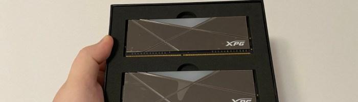 Prezentare memorii XPG Spectrix D50 Xtreme - 4800MHz