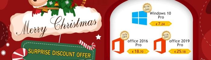 Mos Craciun aduce licente la preturi foarte bune pentru Windows si pachetul Office