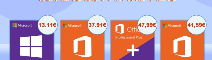 Windows 10 si pachetul Office la sub 200 lei