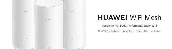 Huawei a lansat un sistem Mesh foarte interesant