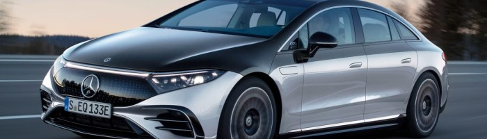 Mercedes EQS este cea mai spectaculoasa masina electrica
