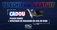 PC Garage ofera o placa video cadou