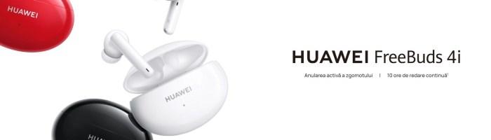 HUAWEI FreeBuds 4i review: căști wireless bune la toate dar accesibile [+VIDEO]