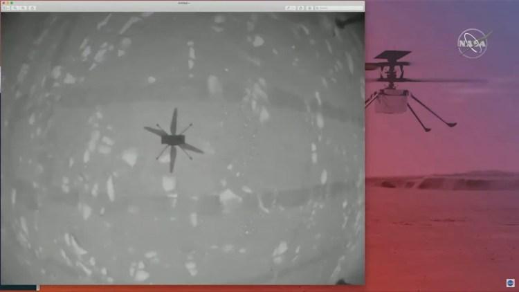 Elicopterul Ingenuity a realizat primul zbor controlat pe o altă planetă