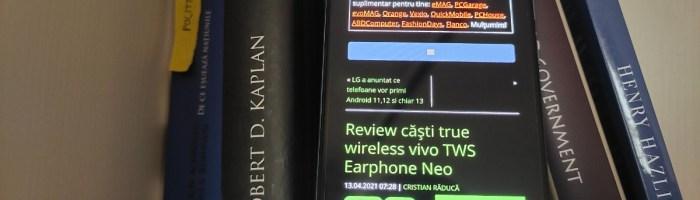 Review vivo Y70 - nou midranger pe piață
