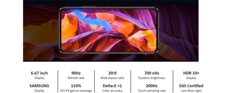 Asus Zenfone 8 flip screen
