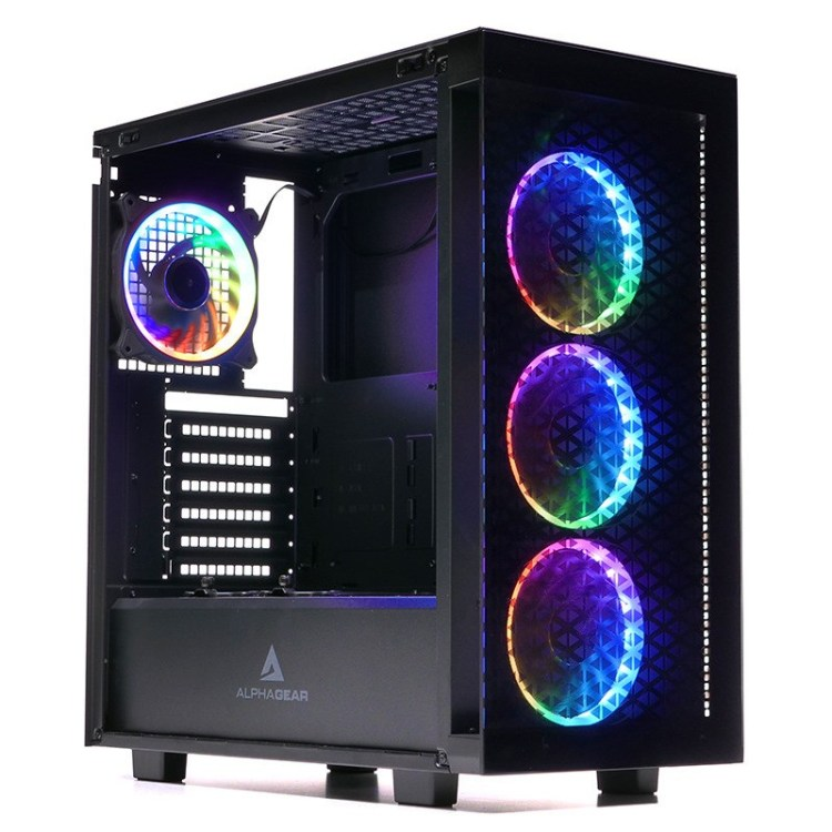 Review carcasa Alphagear by PC Garage - Oathkeeper ARGB si Archon Clear