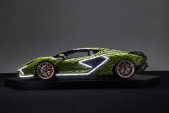 Life-size LEGO Technic Lamborghini Sian FKP 37 (12)