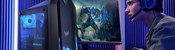 Desktop-urile Acer Predator si Orion au primit o reimprospatare hardware