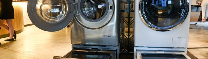In fabricile LG de telefoane se vor fabrica electrocasnice