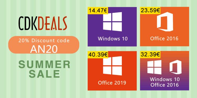 The Best Back to School - o campanie noua de reduceri bune pentru licentele de Windows si Office