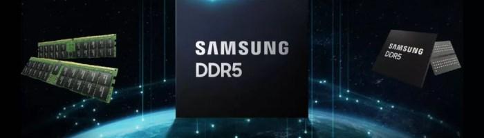 Samsung anunță primul modul RAM DDR5-7200 cu capacitate de 512 GB