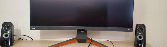 BenQ Mobiuz EX3415R: monitor de gaming ultrawide